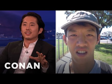 Steven Yeun: Not All Asians Look Alike!  - CONAN on TBS