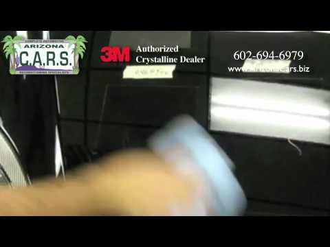 3M Paint Protection Scuff Test