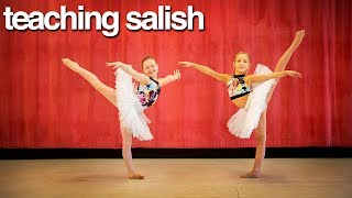 Dance Moms Lilly K Teaches My Daughter Ballet (adorable)