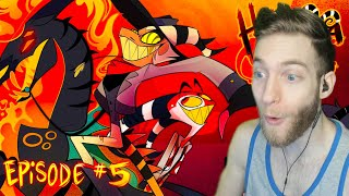 """THE COOLEST CHARACTER!! Reacting to """"Helluva Boss"""" Season 1 Ep.5 """"The Harvest Moon Festival"""""""