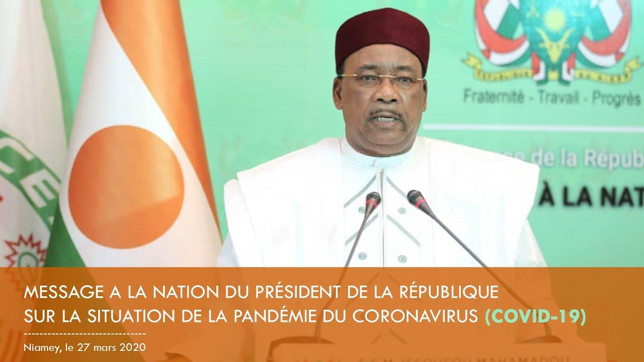 MESSAGE À LA NATION DU PRÉSIDENT DE LA RÉPUBLIQUE SUR LA SITUATION DE LA PANDÉMIE DU COVID-19