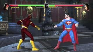 Mortal Kombat vs DC Universe playthrough_The Flash