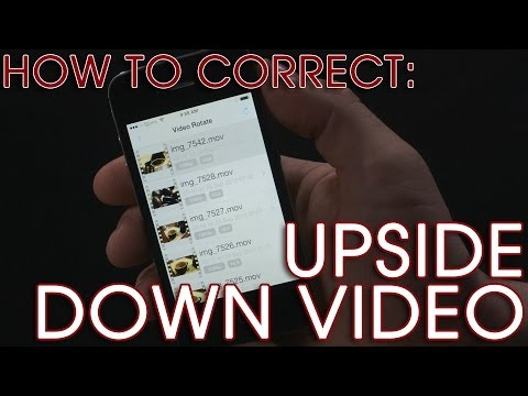 iPhone Video Tip (1 of 4): Correcting Upside Down Video