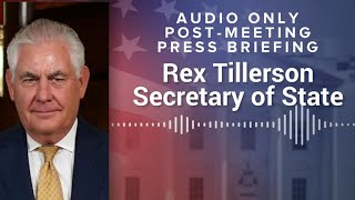 Rex Tillerson on Trump-Putin meeting