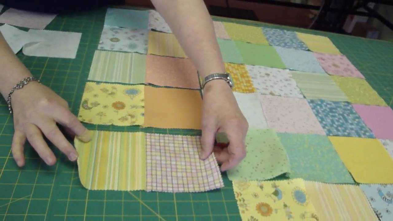 Make A Baby Quilt Part 1 Fabric Selection Amp Assembly