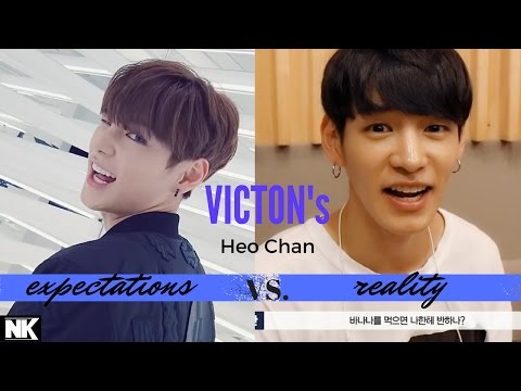 Expectations Vs. Reality - VICTON's Heo Chan