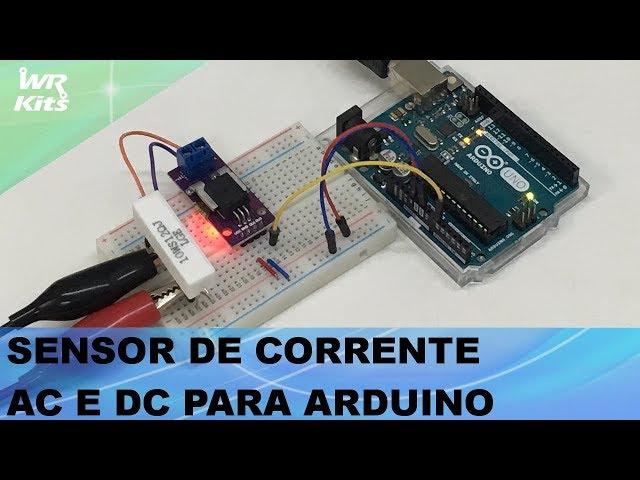 SENSOR DE CORRENTE AC E DC PARA ARDUINO!