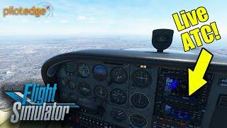 Why Add Live ATC to Microsoft Flight Simulator 2020? (PilotEdge.net)