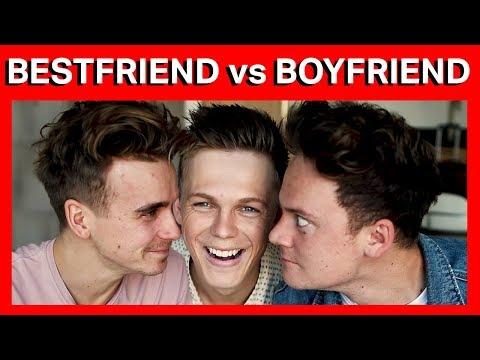 BOYFRIEND vs BEST FRIEND TAG! w/ ThatcherJoe & Conor Maynard