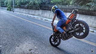 PLEASE DON'T TRY THIS AT HOME | BENZ The Great  Stunt Man !!