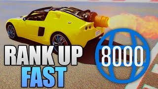 FASTEST WAY TO RANK UP IN GTA 5 ONLINE! (GTA 5 Best RP Level Up)