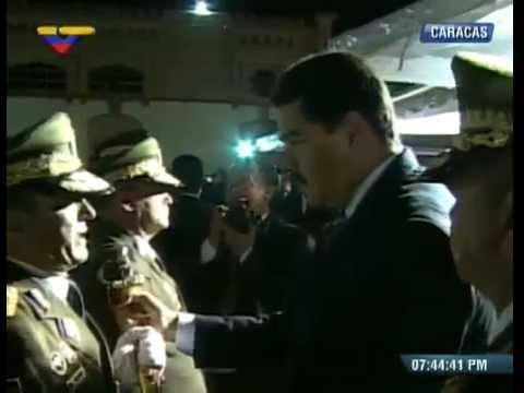 Presidente Nicolás Maduro entrega ascensos militares a oficiales de la FANB. Venezuela 4 julio 2014