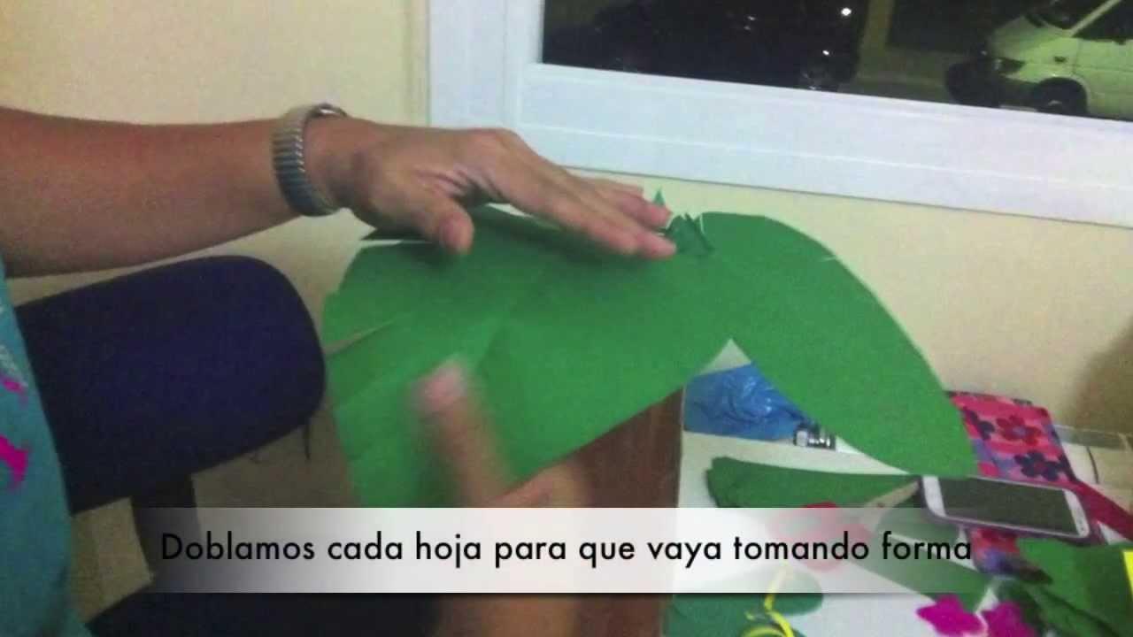 Moldes De Hojas De Las Palmas Para Imprimir: Cómo Hacer Una Palmera