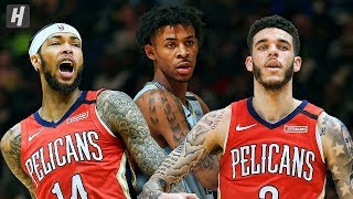New Orleans Pelicans vs Memphis Grizzlies - Full Highlights | January 20, 2020 | 2019-20 NBA Season