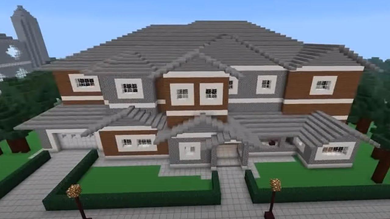 Biggest Minecraft House Ever Redstone Manor – Dibujos Para Colorear