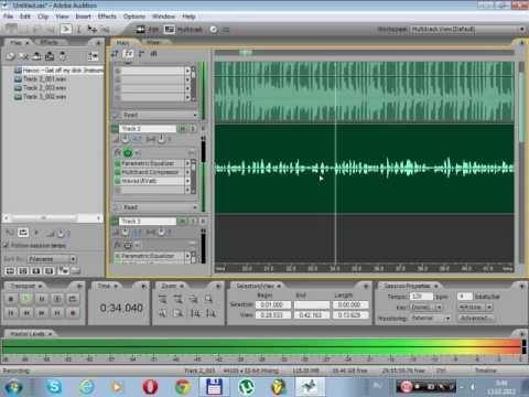 Adobe Audition 2.0 - Сведение, Мастеринг и Вся хуйня