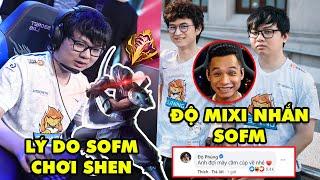 SofM 24h: Tiết lộ lý do SofM lần đầu chơi Shen trong sự nghiệp – Fan Việt Nam, Độ Mixi phát cuồng