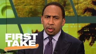 Stephen A. Smith calls ESPN's #NBArank 'garbage' for Carmelo Anthony rating   First Take   ESPN