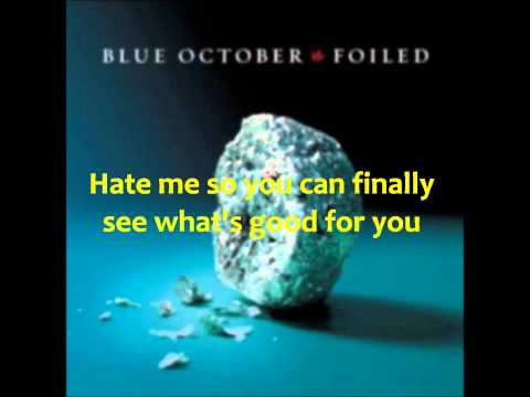 Hate Me (Blue October Cover) Lyric Video (2014)