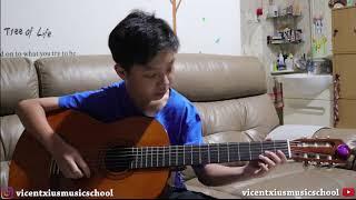 How Far I'll Go [Alessia Cara] - VICENTXIUS MUSIC SCHOOL [Everard Eyrelle]