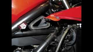 TUTORIAL AIR FILTER FITTING DUCATI 1198