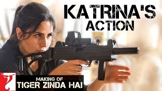 Katrina Kaif's Action | Making of Tiger Zinda Hai | Salman Khan | Ali Abbas Zafar