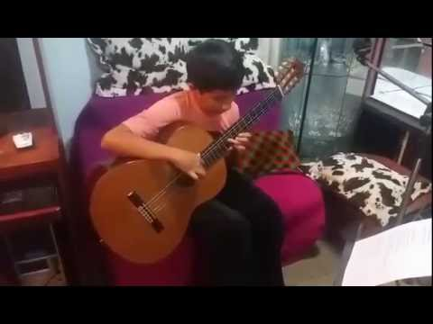 Sergio Ramírez Reyes - Regresa - Vals Criollo - Niño Guitarrista