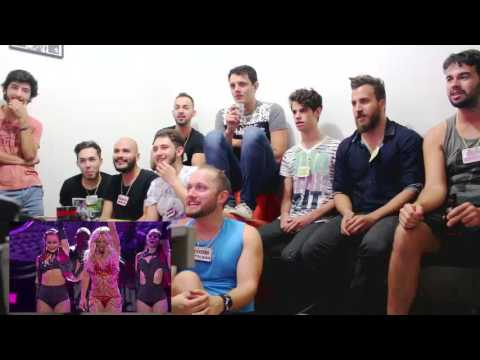 Britney Spears 2016 BBMA performance reaction (brasil)