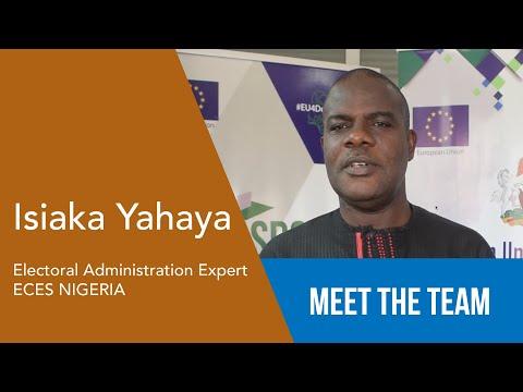 Isiaka Yahaya - Electoral Administration Expert - ECES Nigeria