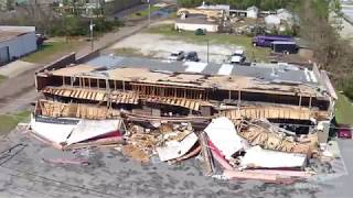 Panama City Hurricane Michael destruction.
