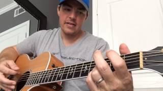 Diggin' Up Bones - Randy Travis (instructional / chords)