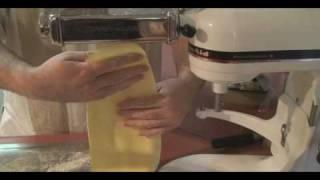 Fresh Pasta Chicken Marsala Ravioli Part 2 of 3
