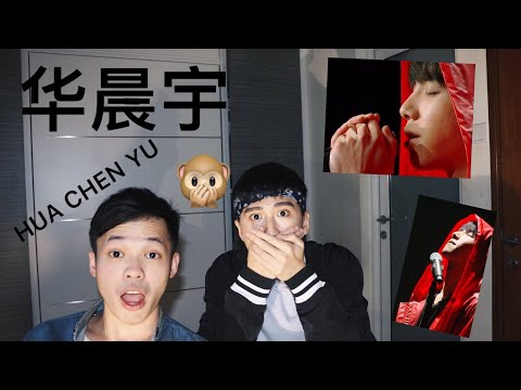 Reacting to 华晨宇 Hua Chenyu《山海》【Singer 2018】