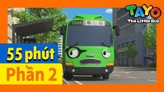 Tayo Phần2 Tập6-10 biên soạn l Tayo xe buýt bé nhỏ l Phim hoạt hình cho trẻ em