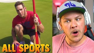 All Sports Golf Battle 3 | Dude Perfect - Reaction