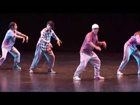 "Andrés Anvar /Danza urbana ""Old estair"""