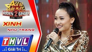 THVL | Ca sĩ giấu mặt 2016 - Tập 15 | Bán kết 1: Xinh - Như Trang | Đội Thu Minh
