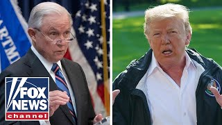 Trump: 'Disappointed' in Sessions 'for many reasons'