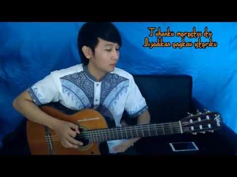 (Ustad Jefri Albuchori) Bidadari Surga - Nathan Fingerstyle