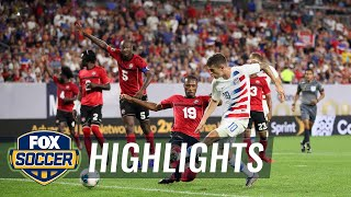 90 in 90: United States vs. Trinidad and Tobago | 2019 CONCACAF Gold Cup Highlights