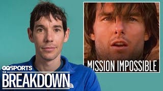 Alex Honnold Breaks Down Iconic Rock Climbing Scenes | GQ
