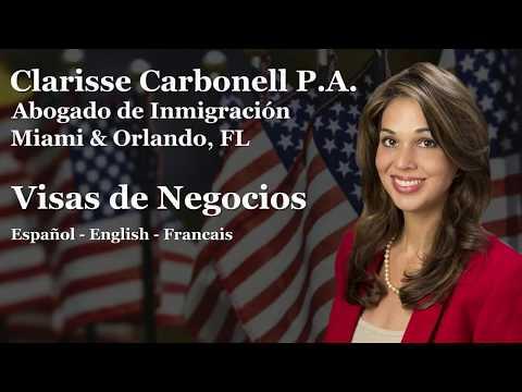 Clarisse carbonell Abogado de Inmigracion