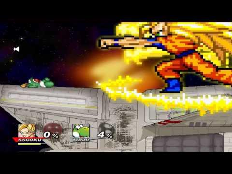 Super smash flash 2 character moves goku musica movil musicamoviles