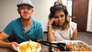 I SWAPPED diets with MY DAD!