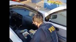 PRF prende traficante com cocaína e crack na BR-153 em Bagé