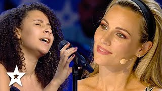 Singer Takes on 'At Last' by Etta James on Spain's Got Talent 2021   Got Talent Global