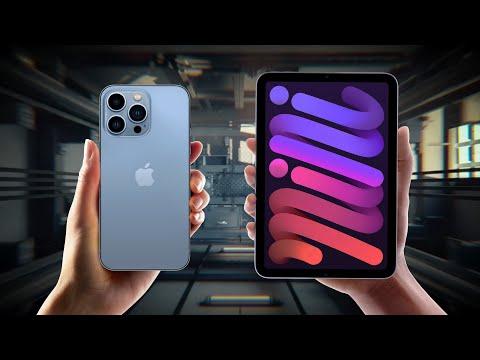 iPhone 13 и безрамочный iPad mini 6 — презентация за 20 минут!