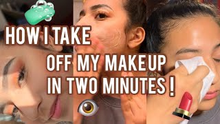 How I Take Off My Makeup!