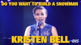 """Kristen Bell sings """"Do You Want to Build a Snowman""""   2015 D23 Expo"""