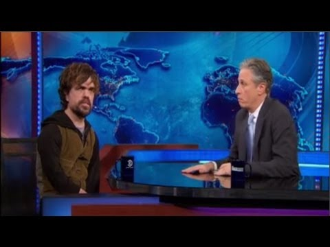 Peter Dinklage Interview with Jon Stewart - The Daily Show - March ...